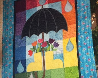 April Showers Wall Hanging