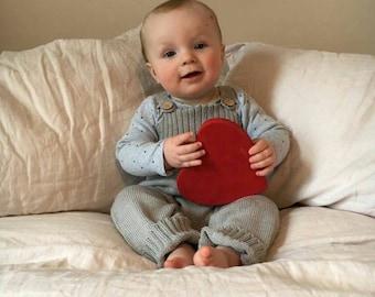 knitted baby clothes, baby romper, baby boy romper, Baby girl romper, unisex romper, gender neutral baby romper,unisex baby clothing 1-2 yr