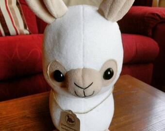 "Alpaca Plush, Ready To Ship, Alpaca Soft Toy, Stuffed Alpaca, Cuddly Alpaca, 12"" Plush"