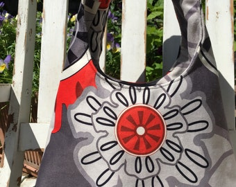 Fabric Bag Floral motifs
