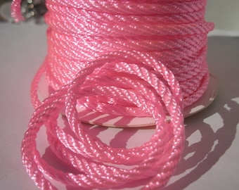 1 meter of cotton yarn braided 3 mm thick (162)