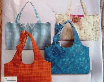 Easy Sew Handbags 2 Styles Simplicity Pattern 4625 UNCUT