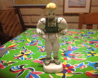 Vintage German or Bavarian boy  figurine