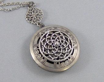 Scented Dreamcatcher,Locket,Silver,Diffuser,Dreamcatcher Locket,Apothecary,Dreamcatcher Necklace,Scent Locket,Scent Locketvalleygirldesigns.