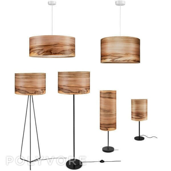 Good SVEN Wooden Floor Lamp   Veneer Lamp Shade   Satin Walnut   Natural Wood  Lamps   Lighting   Modern Lamps   Lampshades