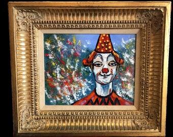 PASCAL CUCARO Circus Clown Enamel Limited Edition