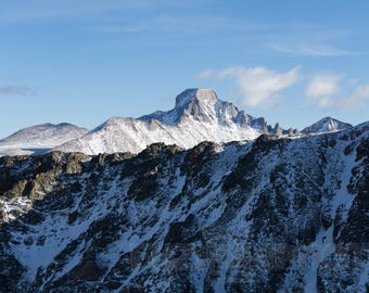 Longs Peak Colorado Wall Art
