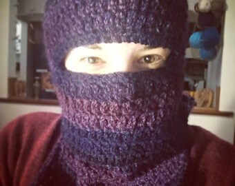 Crochet Ski Mask - MADE TO ORDER