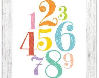 Nursery Numbers