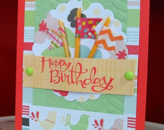Birthday Card, Happy Birthday, Greeting Card, Happy Day, Celebration (#15)