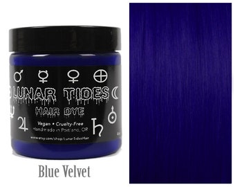 Dark Blue Hair Dye