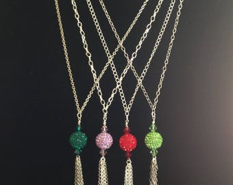 Birthstone (May-August) Swarovksi Crystal Necklaces