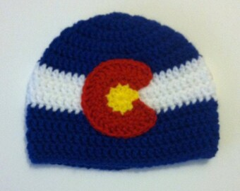 Colorado Flag Hat - Choose Size
