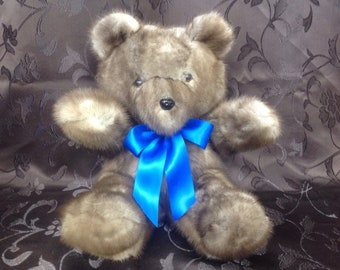 Bear mink Teddy Bears, mink Oso, 13 inches inches - 33 cm.