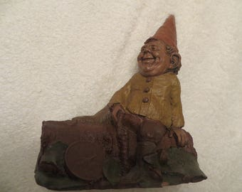 """Tom Clark Gnome Figurine """"Moe"""""""
