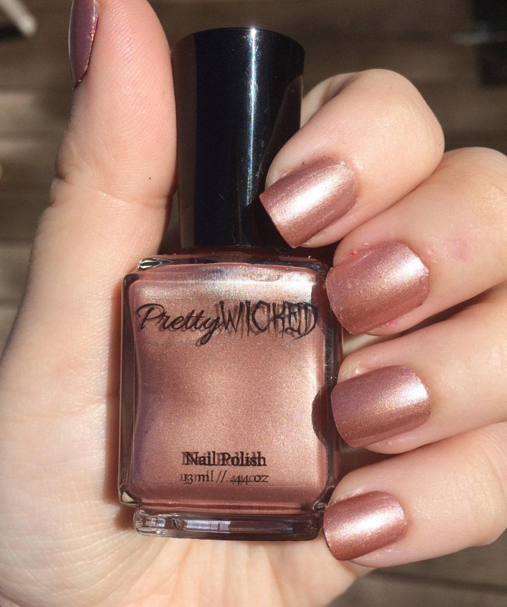 Neutral Nude Nail Polish, Mabel Polish, Brown Nail Polish, Tan Nail ...
