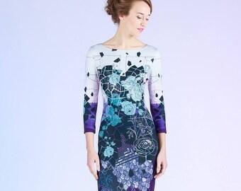 Blacklead Flowers - short dress