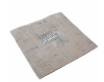 Grunge Junior Layer Cake by Basic Grey for Moda 30150 JLC 278  With Twenty Pieces of Ten Inch Squares Color Gris Grey