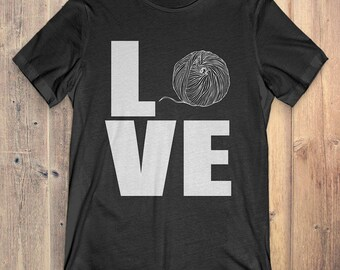 Yarn T-Shirt Gift: Love Yarn