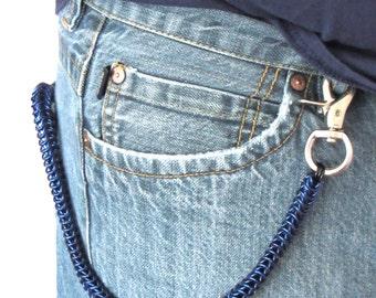 Chain Wallet for Men Gifts, Wallet Chain Men, Mens Chain Wallet, Aluminum Wallets Chain, Wallet Chain Chainmaille, Biker Chain Wallet