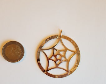 Dream Catcher Pendant in 18K Gold Plated