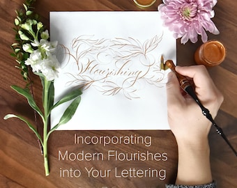 Incorporating Modern Flourishes into Your Lettering