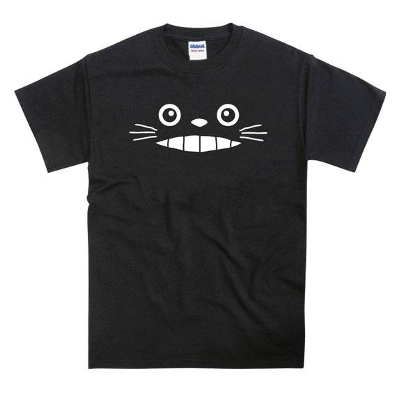 Totoro Inspired Grin Anime Tribute Tshirt