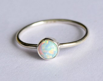 Opal Ring, Gift Ring,Christmas Ring Size 1 2 3 4 5 6 7 8 9 10 11 12 13