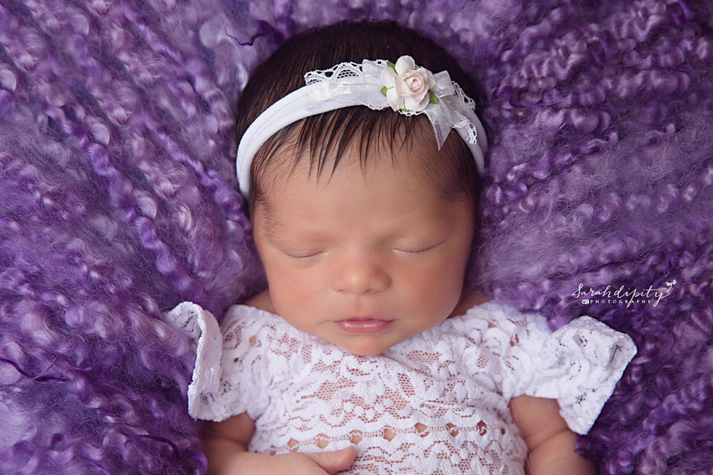Lilac Swaddle Wrap Andor White And Pink Rose And Lace Organic