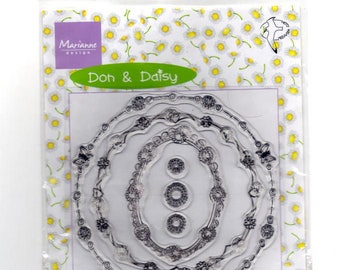 Various crystal gift and Daisy circles stamps