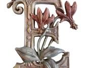 Wooden Letter E + Erythro...