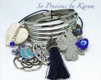 Silver/blue Semanario