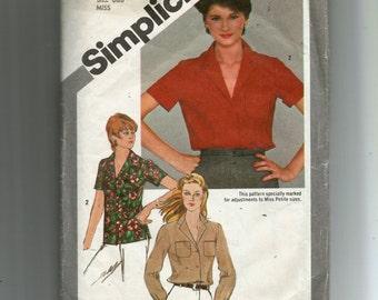 Simplicity Misses' Shirt Pattern 9774