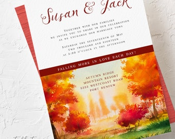 Falling In Love - Wedding Invitations (Style 13562)