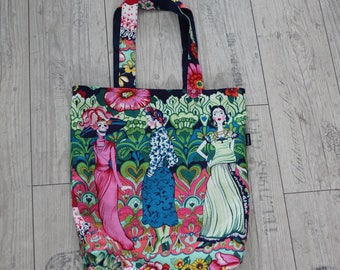 Mexico cavalera shopper bag reversible shoulder bag rockabilly retro pin-up dia muertos valentine's day girlfriend present gift