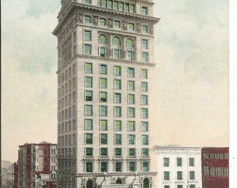 Vintage 1910's Call Building San Francisco California Postcard