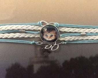 Bracelet With Photo Of Kitten