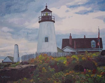 Pemaquid Point Lighthouse Early Fall
