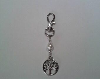 set of 2 bag tree of life Pearl jewellery