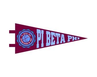 Pi Beta Phi Pennant Decal