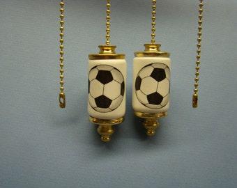 Soccerball Fan & Light ceiling fan pull chain, light pull chain