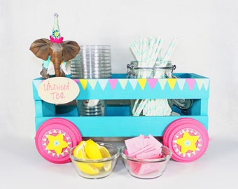Custom Circus Wagon - Party decoration