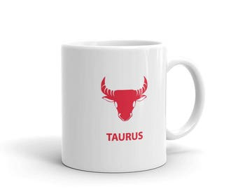 Taurus Zodiac A Mug made in the USA