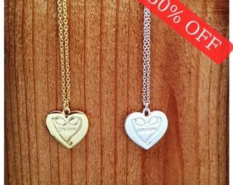 Swimming Necklace - heart pendant, Swim Necklace, Swimming, Swim Goggles, Perfect gift for a swimmer!