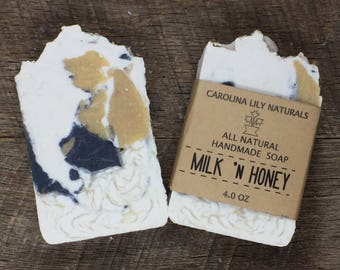 Milk and Honey Natural Handmade Soap