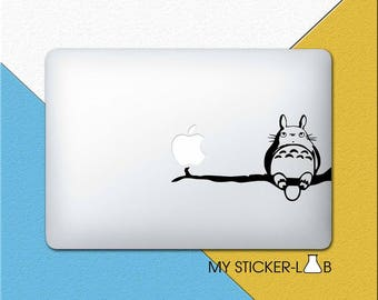 My Neighbor Totoro MacBook Sticker My Neighbor Totoro MacBook Sticker Studio Ghibli Totoro Sticker Totoro Decal Totoro Anime Sticker m805