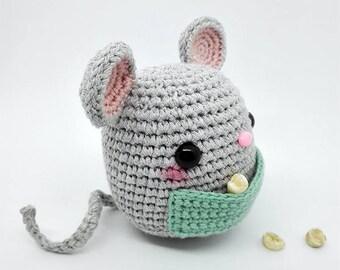 Amigurumi Mouse / Crochet Mouse / Plush Mouse / Crochet Mice / Amigurumi Mice / Ratón Amigurumi /  Ratón Crochet
