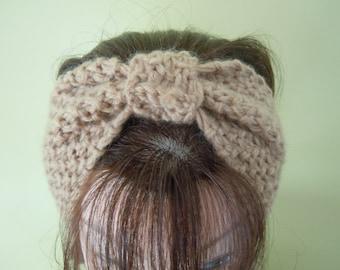Fashion Knitted Headband Ear Warmer Hair Band in Khaki Color
