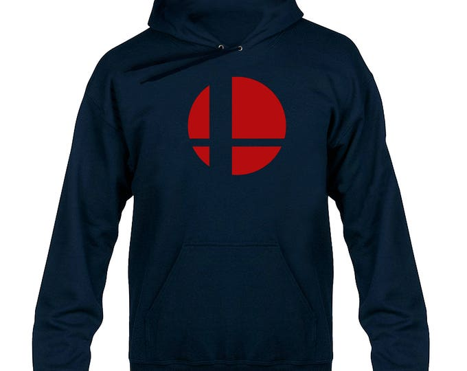 Smash Bros Emblem Tribute Hoody Hoodie Hooded Sweater