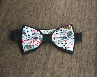 Poker bow tie
